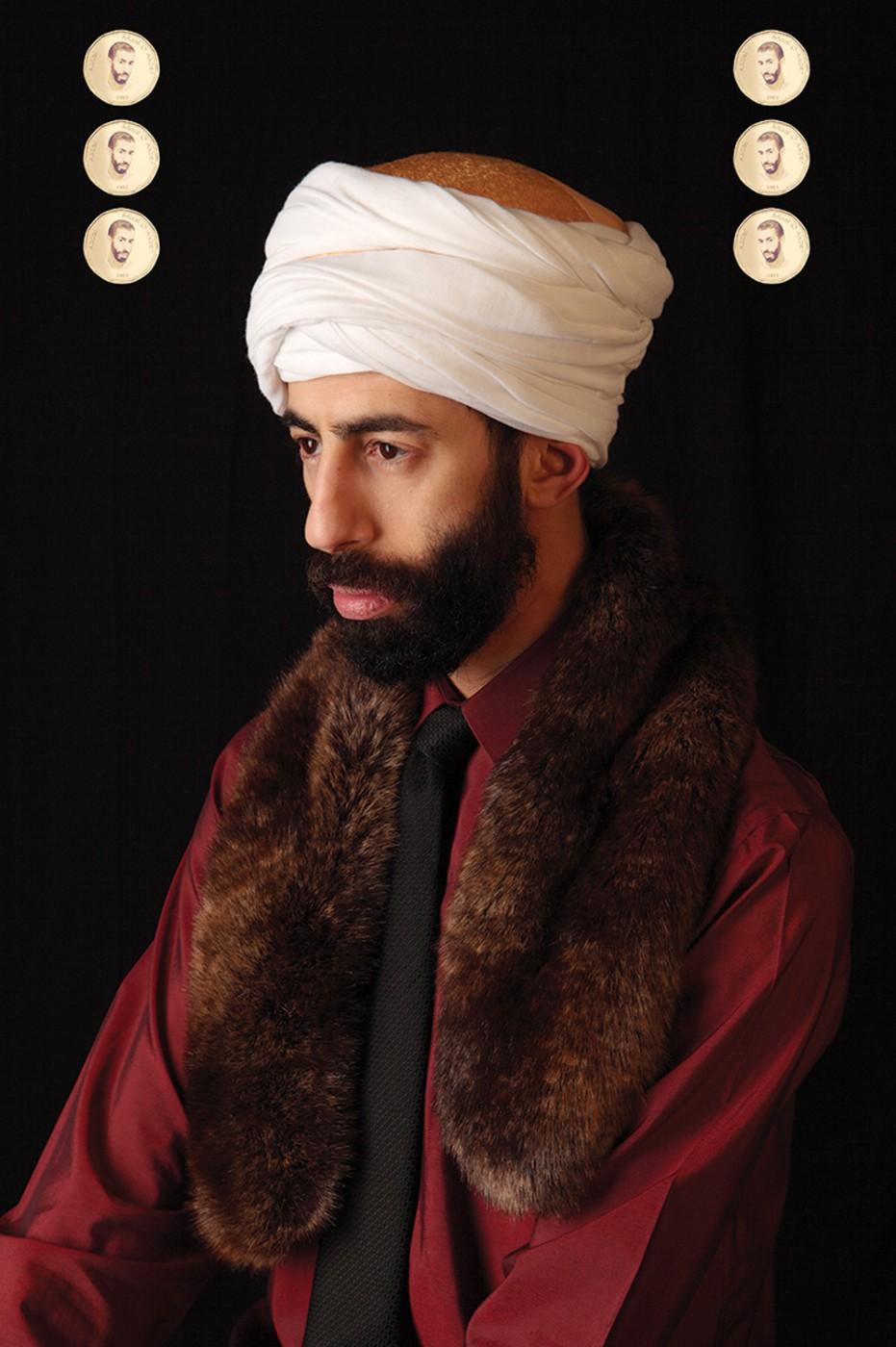 2Fik, </span><span><em>Le Sultan Abdel</em>, </span><span>2012. Archival pigment print, 50 × 33&quot;.