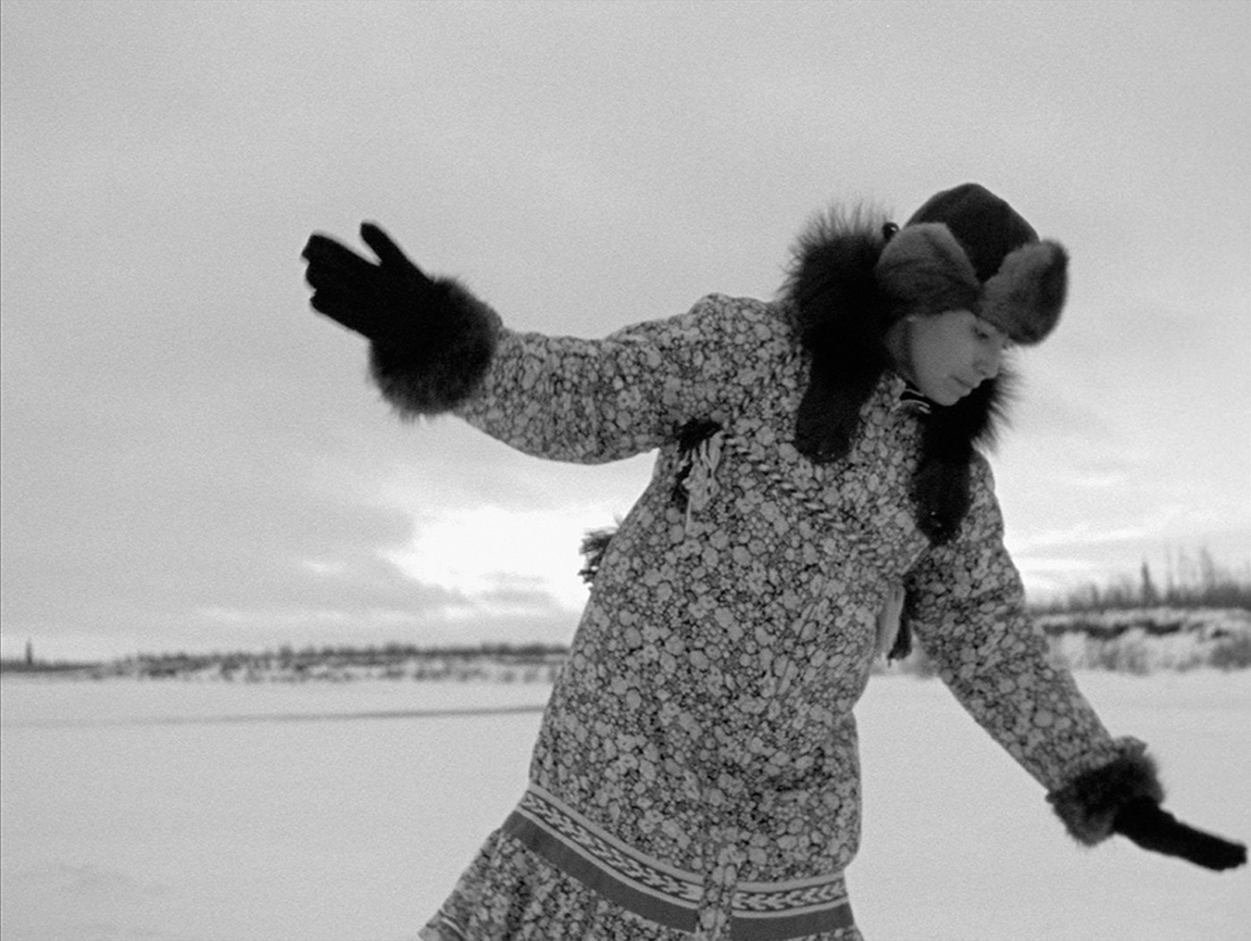 NFB Archives, The Herd, 1998. Film still from Michelle Latimer's 