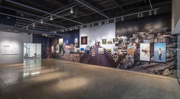 Installation view of Johan Hallberg-Campbell, </span><span><em>Coastal</em>, </span><span>photo by Toni Hafkenscheid.
