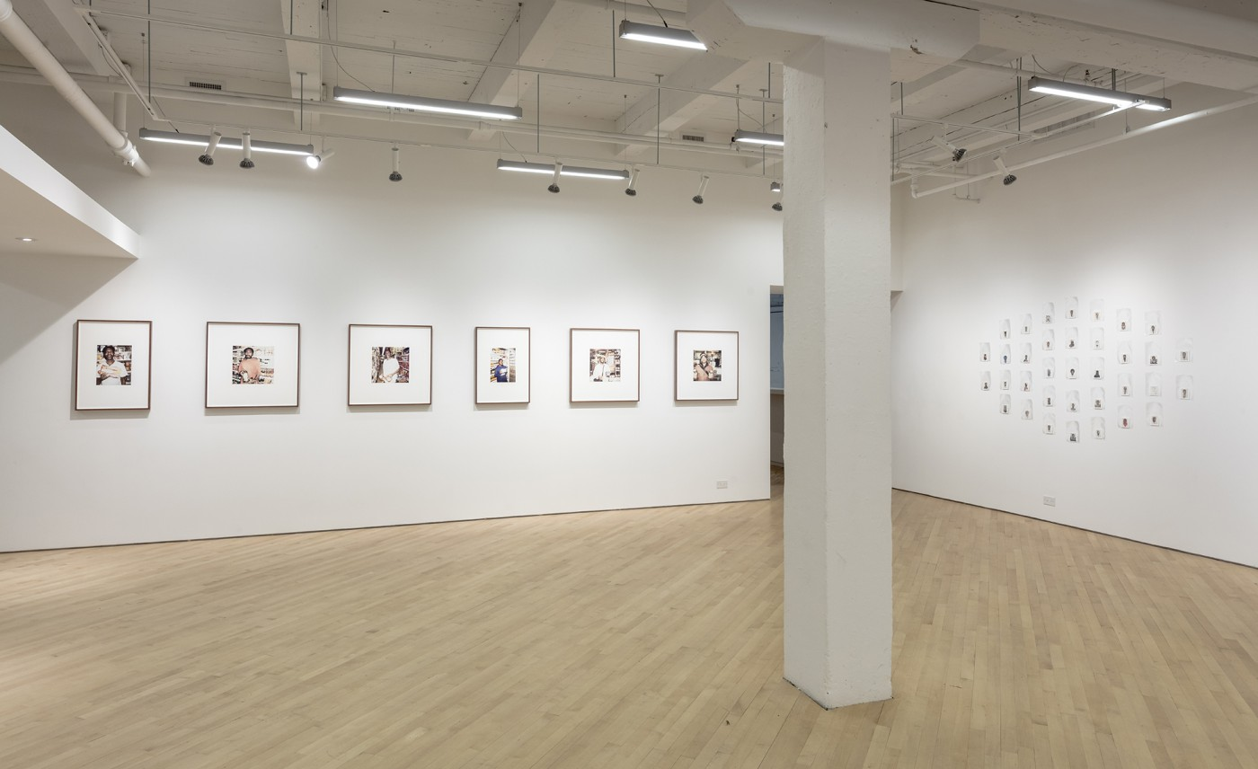 Installation view of , </span><span><em>An unassailable and monumental dignity</em>, </span><span>CONTACT Gallery, Sept - Nov 2017. Photo by Toni Hafkenscheid.
